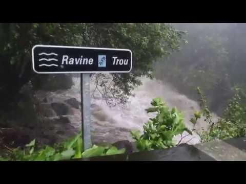 Tempête Tropicale Berguitta 18 Janvier 2018 La Réunion
