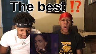 TWIN BROTHER FIRST TIME Prince - Nothing Compares 2 U live REACTION