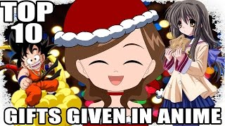 BEST GIFT EVER! Top 10 Best Gifts Given in Anime!!!