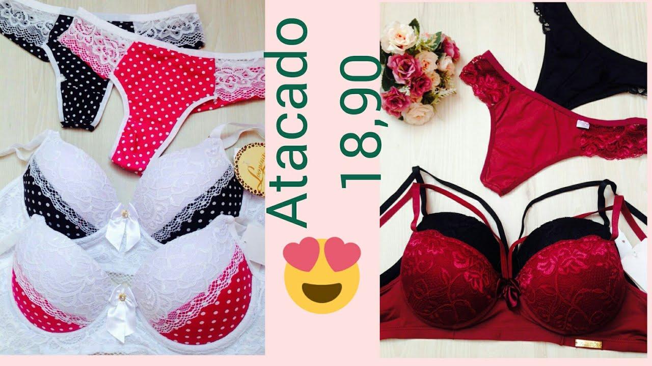 ceae2cf9f Atacado lingeries whats 096991761847 THAYNA todo o Brasil - YouTube