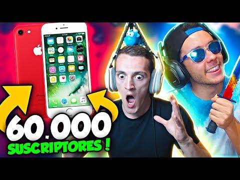 REGALA UN iPHONE 7 POR 60.000 SUSCRIPTORES