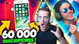 Video de REGALA UN iPHONE 7 POR 60.000 SUSCRIPTORES