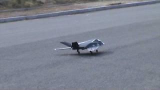 RC F117 EDF Bomb Dropping Attempts