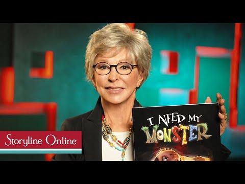 I Need My Monster read by Rita Moreno