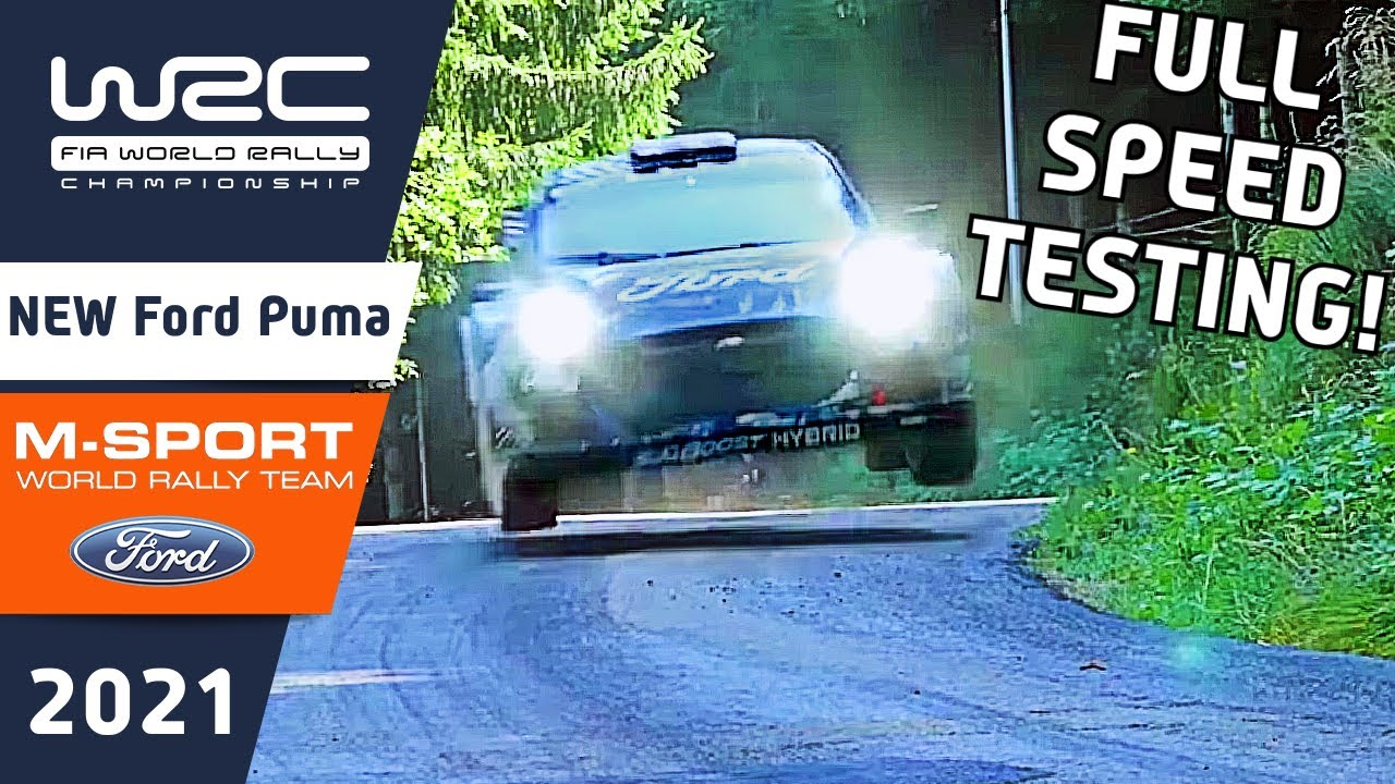 Ford Puma Rally1 WRC Rally Car 2022 : Epic, Flat Out, Rally Car Action from the future of WRC