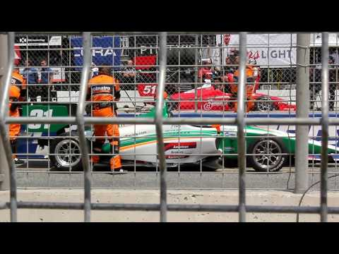 Indy Lights presented by Cooper Tires. Toronto