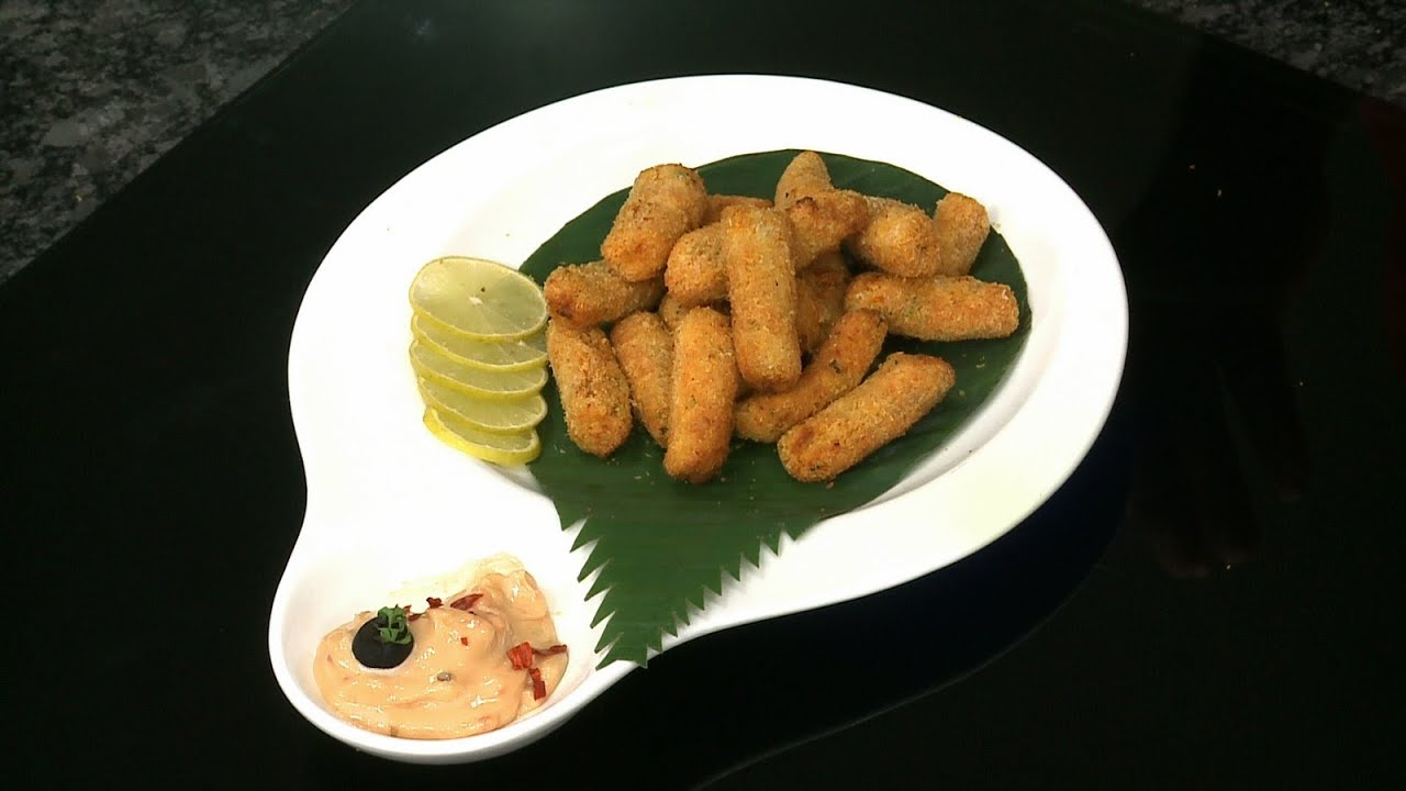 How To Make Fish Fingers With Philips Airfryer By Vahchef Youtube