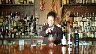 Making movie 【 HANKY PANKY 】ハンキーパンキー Japanese style cocktail making☆