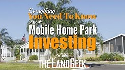 Everything You Need To Know About Mobile Home Park Investing