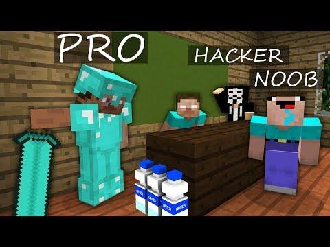 Minecraft Battle: NOOB vs PRO vs HACKER: MONSTER SCHOOL ANIMATIONS, BOTTLE FLIP in Minecraft! thumbnail