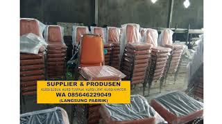 Harga Grosir Wa 085646229049 Agen Kursi Susun Top Super  Klapanunggal Bogor Jawa Barat
