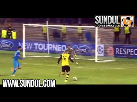 Champions League | Zenit 2-4 Borussia Dortmund [26/02/14] | Liga Champion, Video Bola..