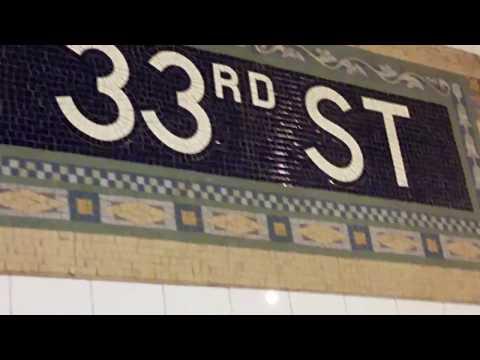 Lexington Avenue Line 33rd St Subway Station