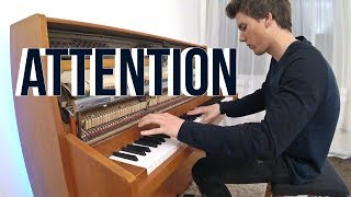 BestCoverEver Charlie Puth Attention Piano cover Peter Buka