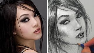 How to Draw a Pretty Face - Linda Le 2