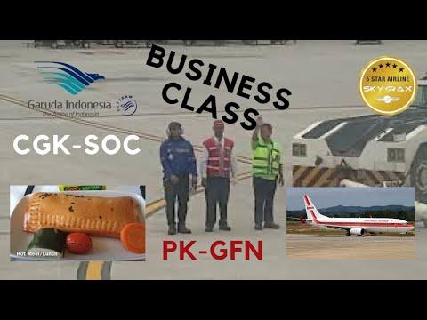 Garuda Indonesia Jakarta-Solo | Business | PK-GFN | 737 800 | 4K