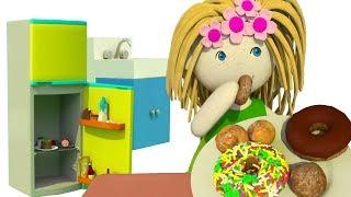 Мультики для самых маленьких. Бьянка и кукольный домик. Кухня