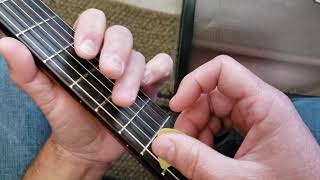 How To Play Staying Alive by The Bee Gees acoustic guitar lesson tutorial