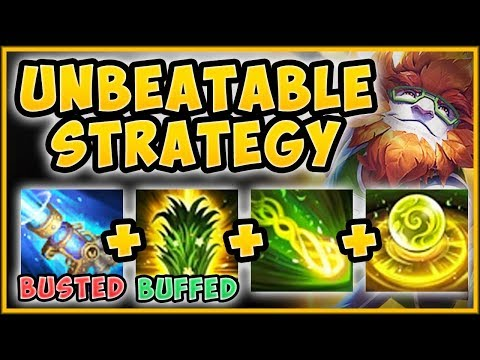 WTF NEW IVERN W MAKES TOP LANE BUSH STRAT IS 100% BROKEN IVERN TOP GAMEPLAY - League of Legends
