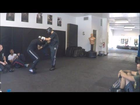 Krav Maga - Fight Class - May 27, 2017 (Knee Strikes to the Head)