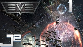EVE Online Newbros Gameplay - Welcome To EVE Online - Part 1