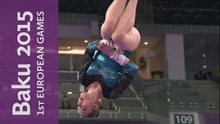 Olympic Champion Mustafina in Great Form on Uneven Bars | Artistic Gymnastics | Baku 2015