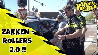 BOEVENSPOTTER  - ZAKKENROLLERS  STAAN OP SCHERP!!! #79