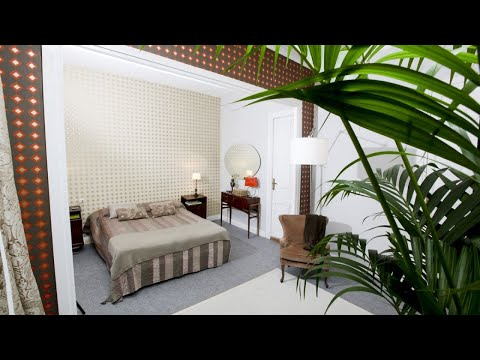 Habitación glamurosa
