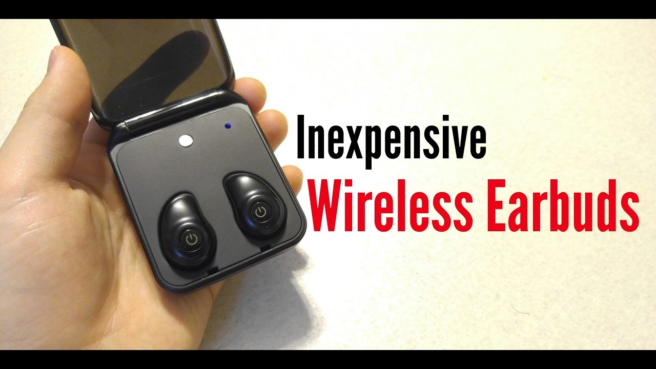 4e1a1d3af52 Inexpensive Completely Wireless Earphones - Good enough? - YouTube