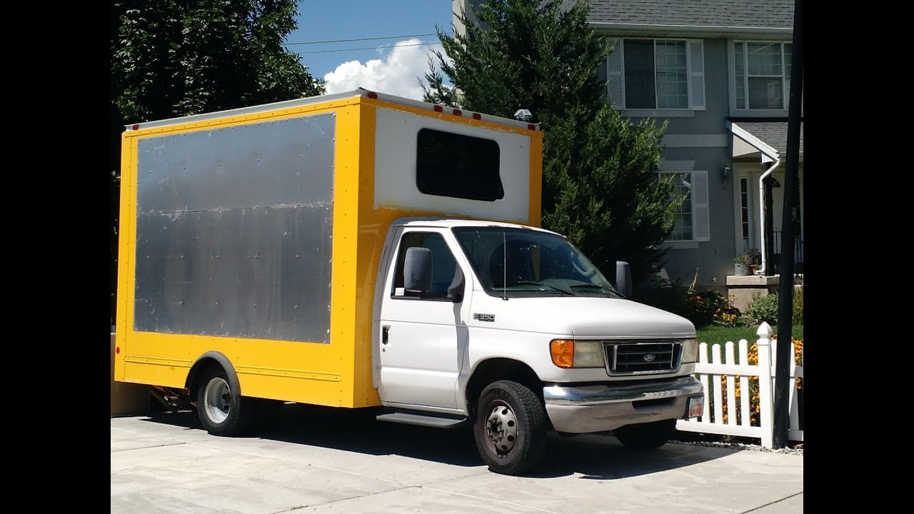 Old Box Truck Converted Into Traveling Tiny House Youtube
