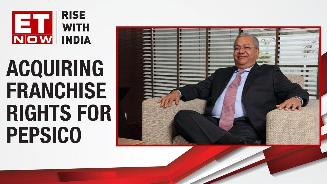 Ravi Kant Jaipuria of Varun Beverages speaks on franchise rights for PepsiCo