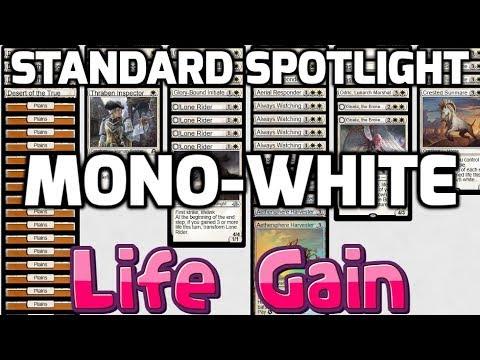Standard Spotlight: Mono-White Life Gain (Deck Tech & Matches)