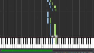 Synthesia #1 - Polyushko Pole - Piano Tutorial