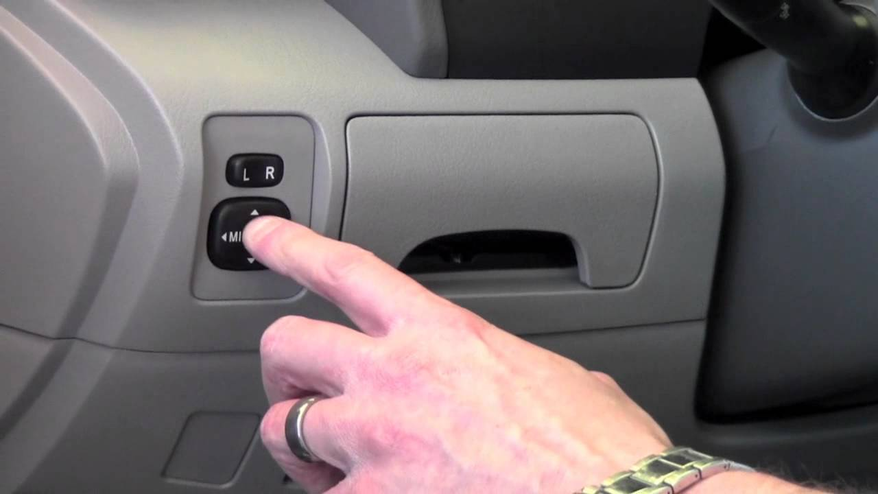 2011 Toyota Camry Power Outside Side Mirrors How To By