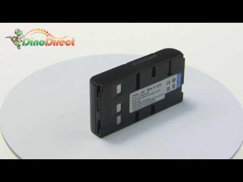 JVC BN-V12U Digital Camcorder Replacement Battery 6V 2100mAh