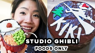 I Only Ate Studio Ghibli Foods For 24 Hours