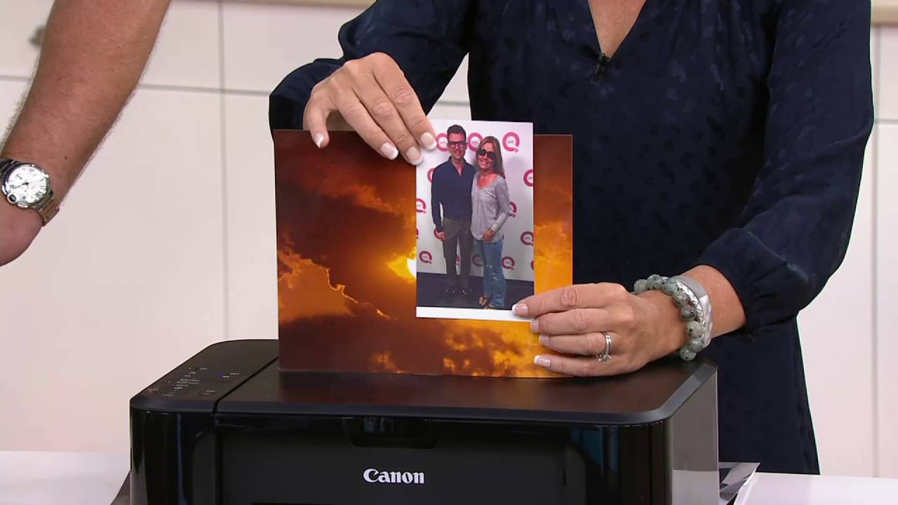 3dc09aa6c Canon PIXMA MG3620 Wireless All-In-1 Color Inkjet Printer w  Mobile Print  on QVC