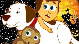 TRAPPED IN SPOOKY HOUSE | The Adventures of Annie and Ben | Cartoons for Kids
