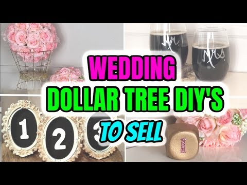dollar-tree-diys-to-sell-&-wedding-crafts-to-make-and-sell