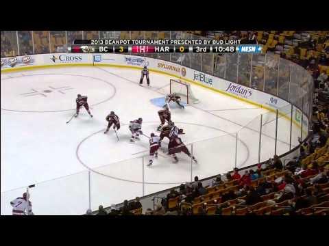 Boston College vs. Harvard Beanpot Highlights - 02/04/2013
