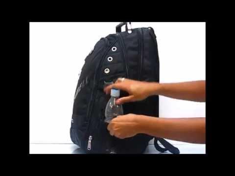1a6b02d52 Mochila Notebook Reforçada com Cabo de Aço Resistente - YouTube
