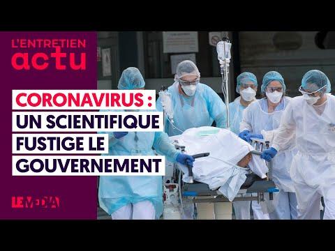 CORONAVIRUS: UN SCIENTIFIQUE FUSTIGE LE GOUVERNEMENT