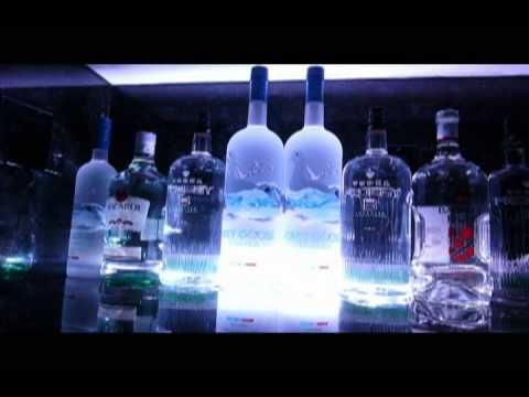 Liquor Bottle LED Lighting Display YouTube