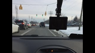 Apeman 1080p HD Action Cam [VIDEO TEST] - DASH CAM