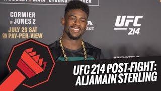 UFC 214 Post-Fight: Aljamain Sterling