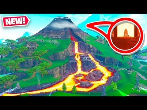 Season 8 Volcano Map Change In Fortnite New Map
