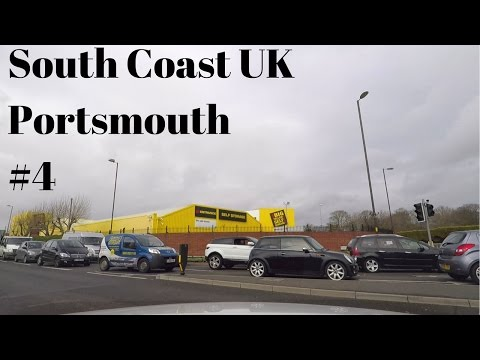 Portsmouth UK driving tour part one