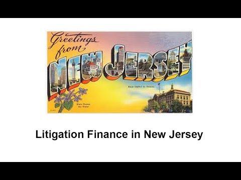 Litigation Finance in New Jersey