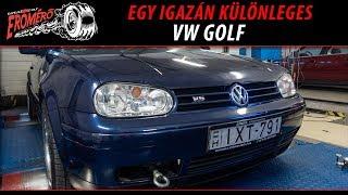 Totalcar Erőmérő: Egy igazán különleges VW Golf