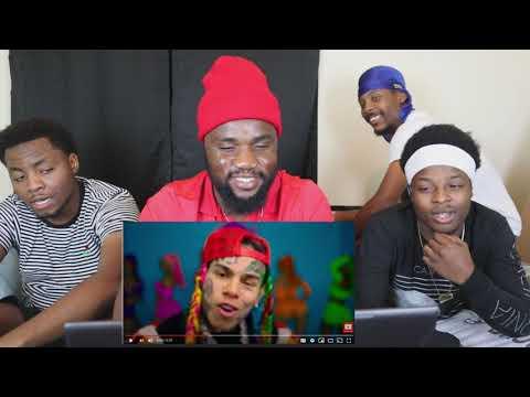 6IX9INE- GOOBA (Official Music Video) reaction video